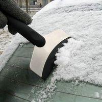 Wholesale Black Mini Car Vehicle Emergency Scraper Removal Snow Auto Clean Tool Ice Shovel