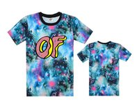 bboy t shirts - NEW Hot Floral Odd future OF tee shirts galaxy men s classic summer t shirts bboy hiphop flower t shirt without MOQ