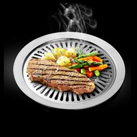 Wholesale Chefmaster Smokeless Indoor Barbecue Grill Stove Top BBQ Grill Stove Top Grill Brazilian Pan BBQ Tools