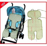 Wholesale 1pcs Baby Summer Stroller Mat Toddler girls boys Seat Cushion Stroller Breathable Pad Double Faced Mat chair cushion