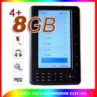 Wholesale Quality HD P inch Ebook Reader Built in GB Card slot Support TF Card up to GB with GB card E book