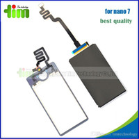 Wholesale LCD Digitizer LCD Touch Screen Glass Panel Replacement for iPod Nano th LCD Display all kinds of spare parts for mobile phone