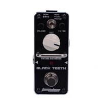 vintage black guitar - New AROMA ABT BLACK TEETH Vintage Guitar Distortion Mini Analogue Effect True Bypass MU0962