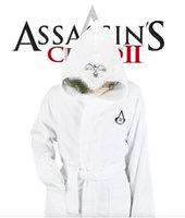 assassins creed shirt - Assassins creed bathrobe double sided thickening cut pile high bathrobe S L
