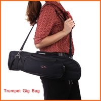 Wholesale Trumpet Gig Bag Trumpet Case D Water resistant Oxford Cloth Design with Adjustable Single Shoulder Strap Trumpet Accessories
