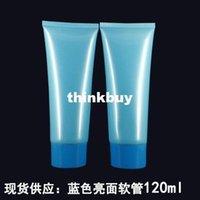 Wholesale 20pcs Blue cosmetic cream tube plastic packaging container ml gqqme