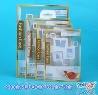 Wholesale A Universal PVC Retail Package Packaging Plastic Crystal Clear Box Boxes for IPAD MINI IPAD AIR quot quot quot quot inch DHL