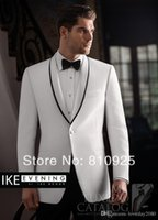 Cheap custom made groom wedding suits grooms suit white and groom wear for dinner wool suits