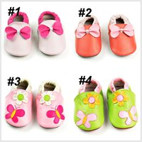 Wholesale baby first walker shoes baby shoes soft genuine cow leather baby moccasins kids shoes for boys baby girl shoes beby shoes