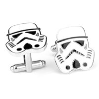 Wholesale 2016 New Arrival High Quality NOVELTY Men Imperial Storm Commando Superhero STAR WARS Cufflinks