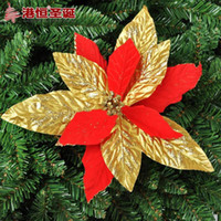 adhesive powder - Christmas dress up supplies for cm red flannelette high grade adhesive powder g luxury flower ornament crafts decor natal party supplie