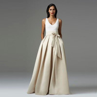 Wholesale 2016 High Quality Satin Party skirt For Women Ruffles Bow Long Tutu Skirt Laberate Maxi Elasitc Waist Formal Party Skirts