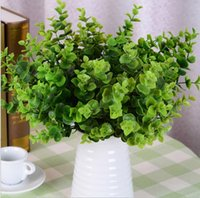 Wholesale Artificial Eucalyptus grass party decoration real touch silk flowers colors Mother s Day gift artificial plants