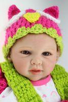 Cheap 20 inch  50cm 2015 Fashion Handmade Reborn Baby Doll Soft Silicone Lifelike Realistic Cute Reborn Baby NPK Dolls Free Shipping