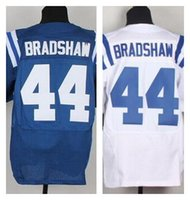 ahmad bradshaw jersey - Factory Outlet New Ahmad Bradshaw Men Elite Football Jersey stitched Bradshaw Mix Order size M XL Blue white jerseys