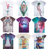 Cheap super deal Harajuku women t shirt casual t shirts men t-shirts tops funny Galaxy Beard tee women's t shirt tshirts casual-shirt