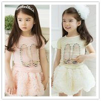korea kids style - Kids princess tutu floral Skirt Baby TuTu skirt Korea Style rose skirt