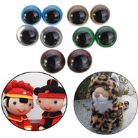 Wholesale 100pcs10 mm Color Plastic Safety Eyes For Teddy Bear Doll Animal Puppet Crafts order lt no track