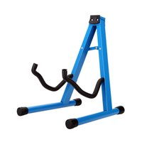 Wholesale High Quality Folding Guitar Stand Holder A Frame Design Foldable Stand Rest for All Acoustic Electric Bass Guitar I960