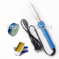 Wholesale Electric Soldering iron W V Solder Station Welding Repair Tool Kit