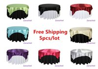 Wholesale Home table overlay high quality Wedding Christmas party tablecloth round shape
