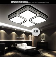 baked lighting - 220V w brief lamp Baking finish ceiling lamp for bedroom kitchen lamp lights