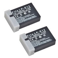Wholesale Camera battery V mAh Digital Batteries high quality LP E12 Li ion Battery for CANON EOS M Camera