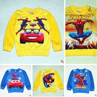 Girl a910 - 18 colors NEW Spider Man T shirts cartoon T shirts Outerwear For Kids Girls Frozen A910