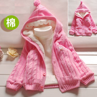 Cheap Wholesale-The new children's sweater thickening and fluffy cotton thread