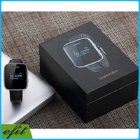 smartphone watches - DHL Smart Watch E6 U iWatch bracelet Bluetooth Smartwatch Sport wireless Wristwatch Leather chain Sync phonebook For IOS Android Smartphone