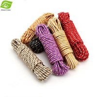 clothing cleaning - 10m Nylon Durable Clothesline Household Cleaning Tools Sun Clothes Washing Line Laundry Multi Function Nylon Rope dandys