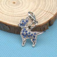 beagle collar - Czech Diamond Beagle Shape Pet Tag ID With Good Quality Cute Luxury Pet Pendant Dog Accessory Fit Pet Collar Phone Key Chain