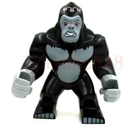 baby gorilla - 192pcs CM BABY TOYS DECOOL MARVEL DC SUPER HEROES LARGE GORILLA GROOD YOUNG JUSTICE MINIFIGURE BUILDING BLOCK SET TOYS