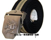 western belt wholesale - men lady cotton belt western fabric belt men women webbing canvas belt