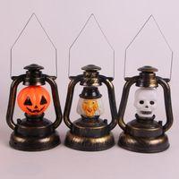 audible light - Halloween Horror audible sound emitting lantern pumpkins ghost lights Nightlight light emitting kerosene Witch skeleton lights