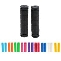 bicycle handlebars rubber grips - Cycling BMX MTB Road Mountain Bicycle Bike Soft Rubber Handle Bar Handle Grips Handlebars Components Y2022