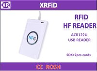 acr smart reader - USB ACR U NFC RFID contactless smar ic Card reader and Writer USB mhz reader for access control with Free SDK and cards Free ship