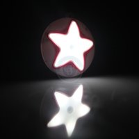 bedroom wardrobe white - 4 Colors W Human Body Induction Automatic Pir White Pentagram Sensor Night Led Light for Bedroom Wardrobe Bathroom