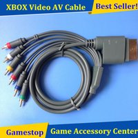 Wholesale New Component Composite Video AV Cable Cord Wire For Official XBOX