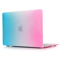 beautiful pc case - Beautiful Rainbow Laptop Flip Shell PC Hard Full Protect Case Cover Bag For Macbook inch A1534 MF855LL MF865LL MK4M2LL MK4N2LL