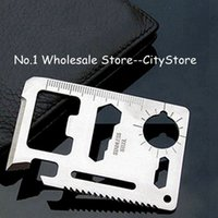 Wholesale in Multi Tools Credit Card Emergency Survival Pocket Knife Tool Camping Tool
