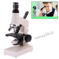Wholesale Microscope X X Digital Biological Microscope Set pc with LED Light for Children Discovery Early Studying Children Use TF D1200