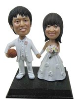 basketball personalized gifts - Fedex Personalized bobblehead doll go basketball wedding gift wedding decoration polyresin