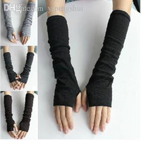 Wholesale New Arrived Fashion woman Long Gloves without Finger