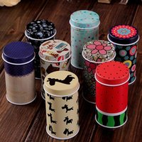 Wholesale Mini Frosted Storage Tin Box Toothpick Box U Disk Tin Box Pattern Case Pins box Tea box Coffee Box
