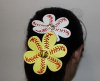Cheap Headbands real softball hair bow Best Artificial Leather Animal softball hair tie