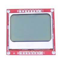 Wholesale High Quality NEW for Nokia Liquid Crystal LCD Display Module White Backlight PCB adapter for Arduino