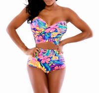 Wholesale Hot Styles Sexy Women Summer Bikini Beopard Beach Swimwear One Piece Swimsuits Bathing Suit Sexy Swimming Suit for Womens Swimwears M XL