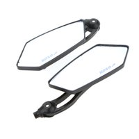 Wholesale 1Pair Motorcycle Motorbike Universal Rear View Side Mirrors mm Black Motor Rearview Mirror