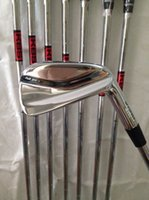 golf irons - 2015 golf clubs MP5 irons MP golf irons P with Kbs tour steel R shaft free headcover